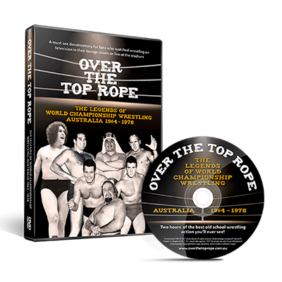 WORLD CHAMPIONSHIP WRESTLING-OVER THE TOP ROPE DVD