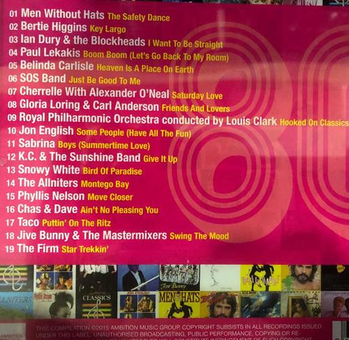 80s CD Back